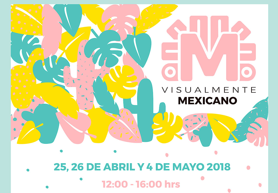 Cartel de visualmente mexicano 2018