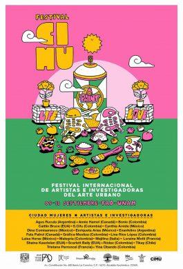 Cartel mujer festival CIMU Eva Bracamontes