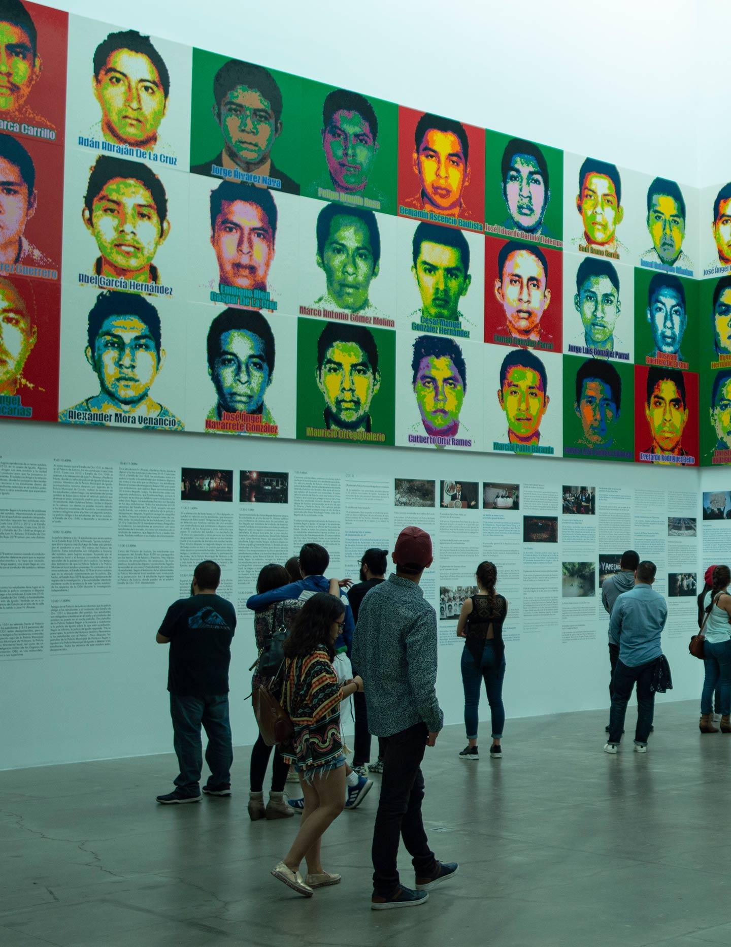 43 desaparecidos ai weiwei obra