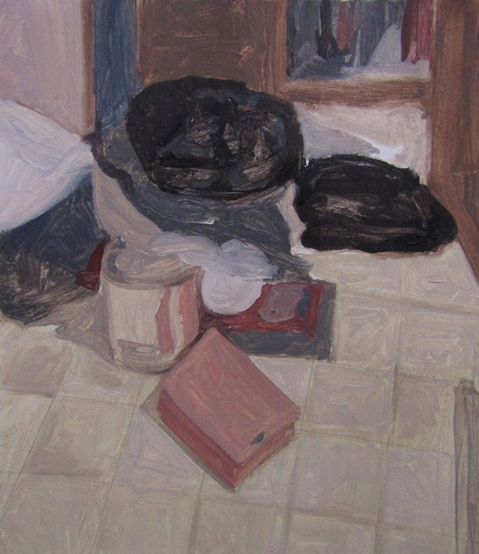 bolsas negras pintura