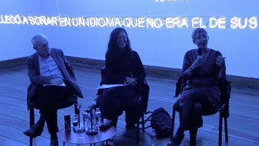 Conversatorio. Fiamma Montezemolo, Tania Aedo, Nestor Garcia Canclini, Farolito
