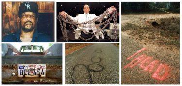 Imágenes relacionadas con la muerte de James Byrd, publicadas en google.